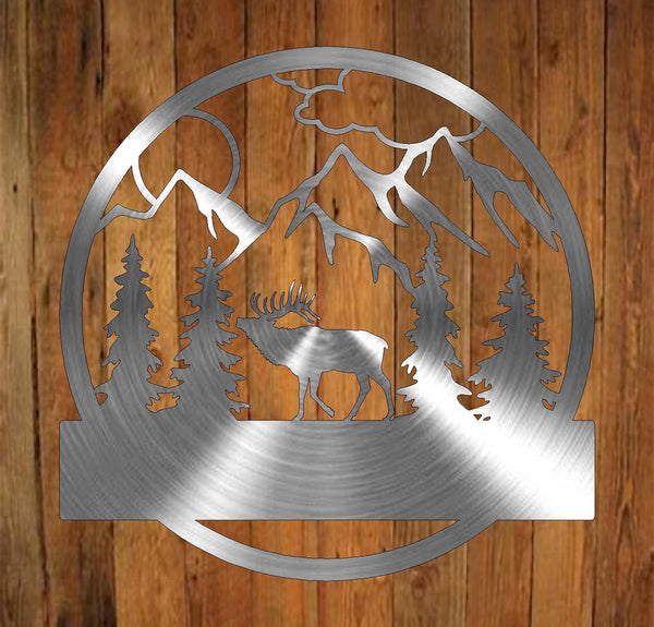 Elk Monogram freeshipping - Price Metal & Fabrication