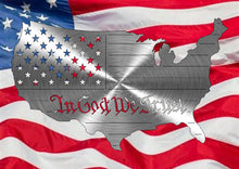 "Load image into Gallery viewer, America ""In God We Trust"" Flag"
