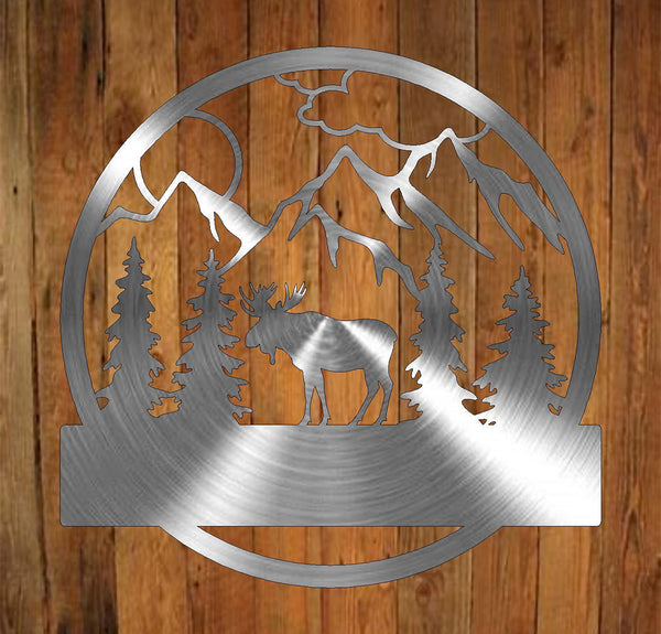 Moose Monogram freeshipping - Price Metal & Fabrication