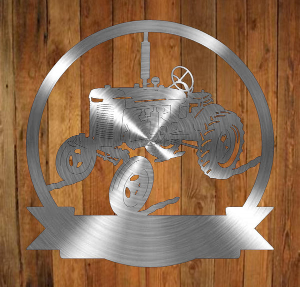 Tractor Monogram freeshipping - Price Metal & Fabrication