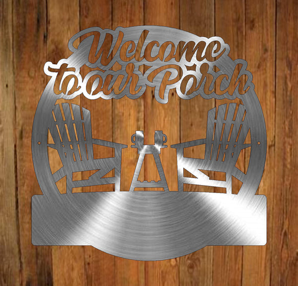 Welcome to our Porch Monogram freeshipping - Price Metal & Fabrication