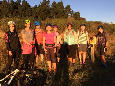 Ladies Who Love To Ride - Bike Otago Riding Group