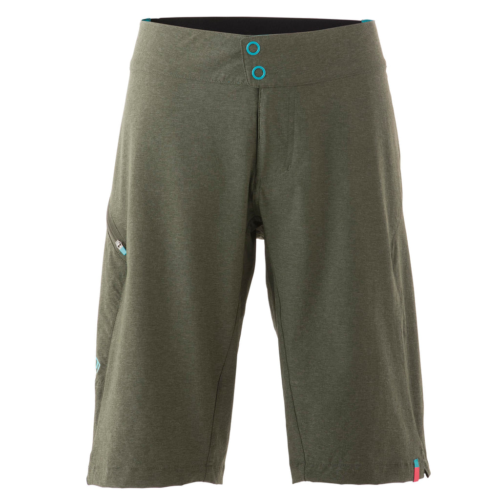 W'S AVERY SHORT DARK GREEN 20