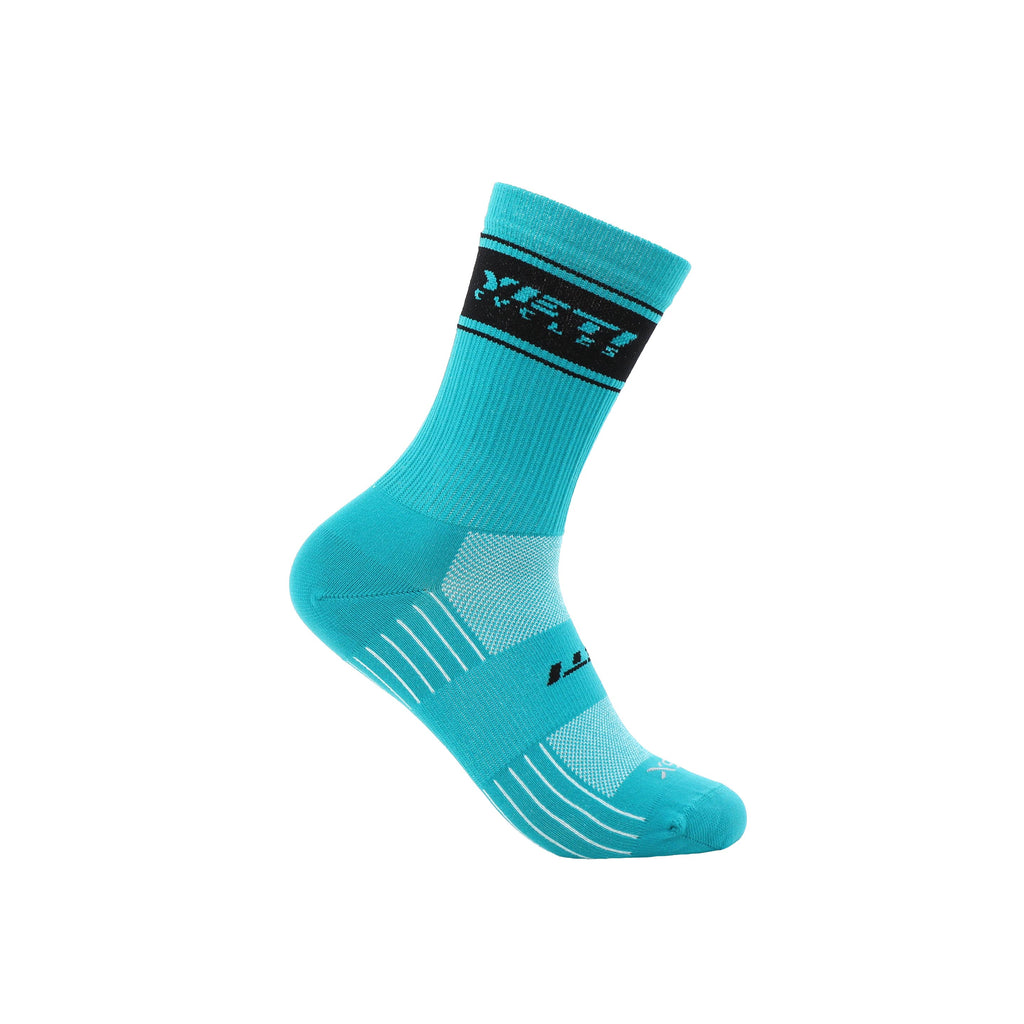 YETI CYCLES TRAIL SOCK TURQ SM/MD