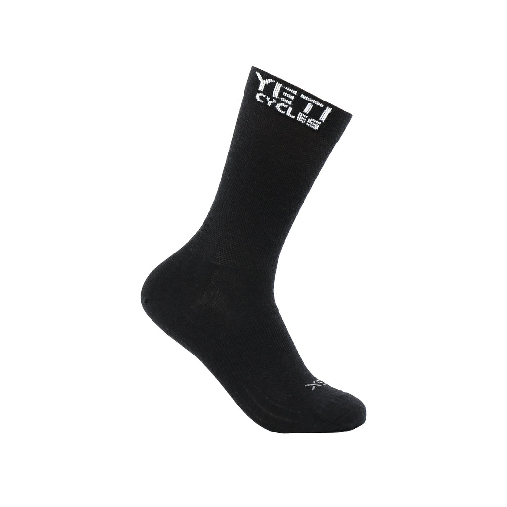 YETI CYCLES WOOL TRAIL SOCK DARK GREY SM/MD