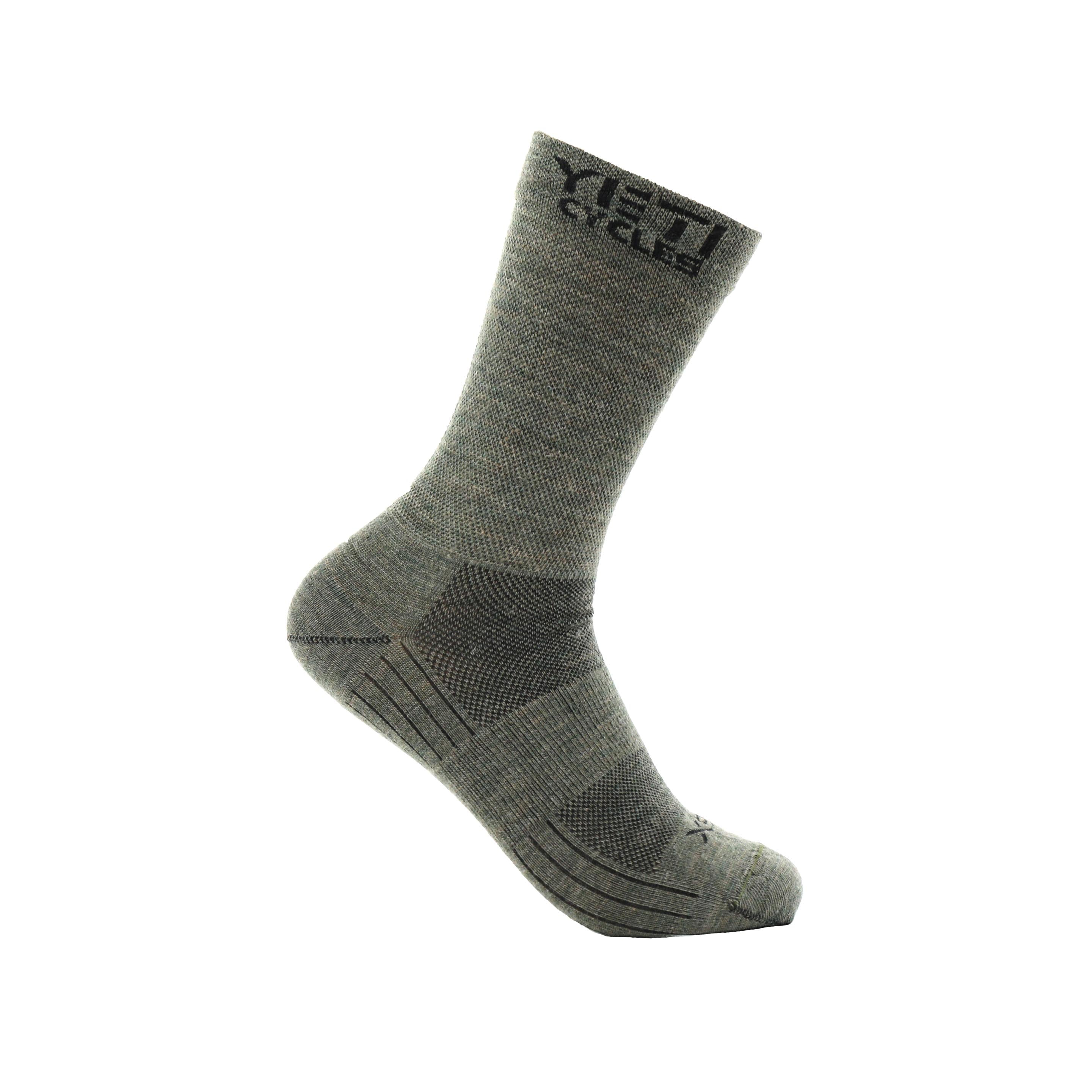 YETI CYCLES WOOL TRAIL SOCK MOSS SM/MD