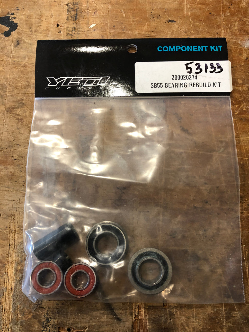 Yeti Parts - SB55 Bearing Rebuild Kit Gen1