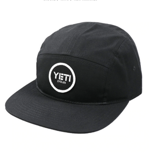 YETI BLOCK HAT BLACK