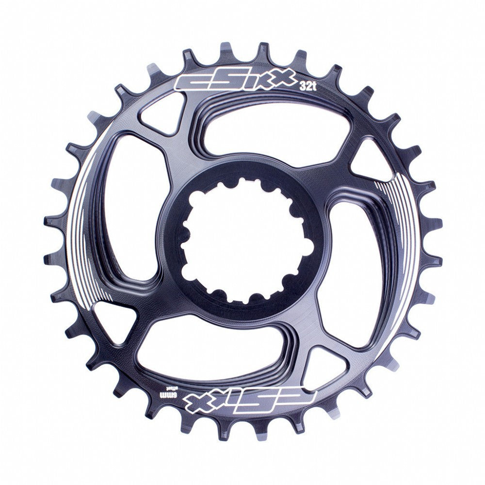 cSixx - TT Chainring SRAM 6mm 32t Black