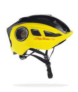 Helmet - Urge SupAcross Yellow & Black