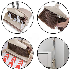 Lalaa Broom and Dustpan Set