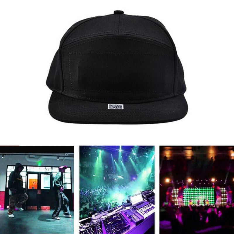 LED Bluetooth Text Hat