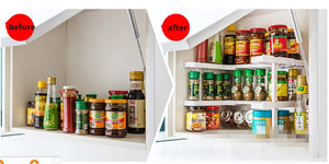 2-Tier Kitchen Cabinet Organizer