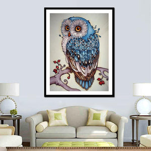 "Full Drill Square Diamond 5D DIY Diamond Painting""Cute owl""Diamond Embroidery Cross Stitch Rhinestone Mosaic Painting"