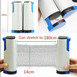 Retractable Table Tennis Table plastic Strong Mesh Net