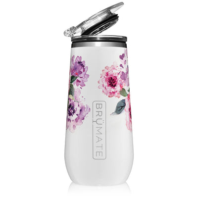 CHAMPAGNE FLUTE 12OZ | PEONY (LIMITED EDITION)