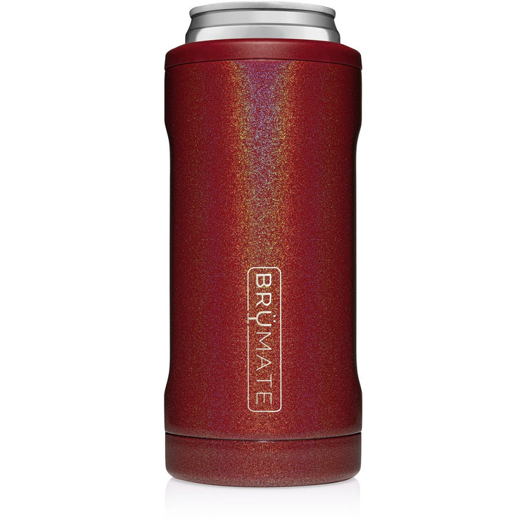 HOPSULATOR SLIM | GLITTER RUBY (12OZ SLIM CANS)