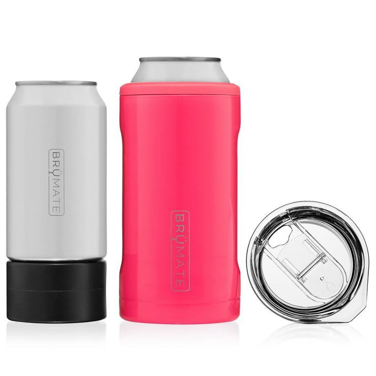 HOPSULATOR TRÍO 3-IN-1 | NEON PINK (16OZ/12OZ CANS)