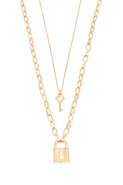 Regina Necklace in Gold