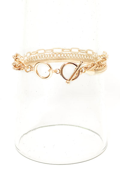Ashleigh Bracelet in Gold