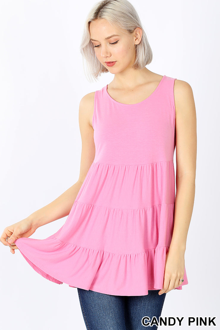 The Emily Top - Candy Pink