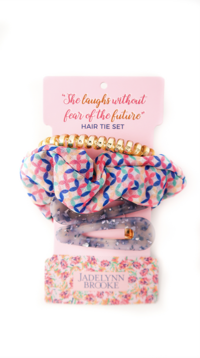 Hair Set - She Laughs Without Fear (Millennial Pink)