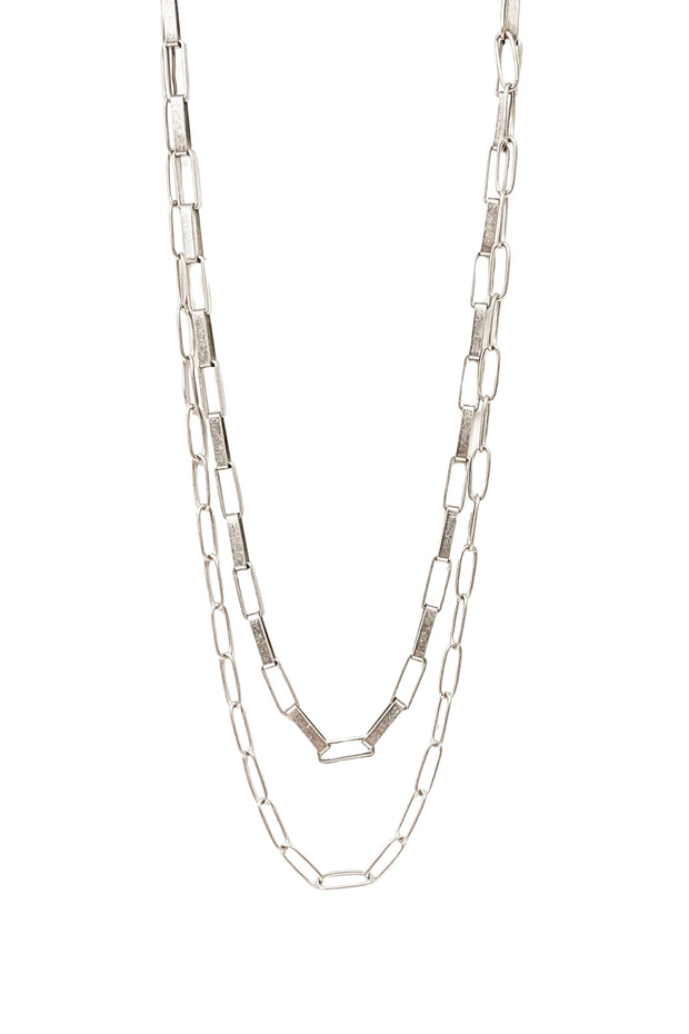 Glenna Necklace in Silver