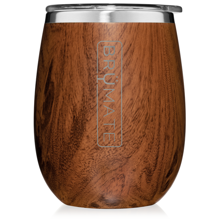 UNCORK'D XL 14OZ WINE TUMBLER | WALNUT