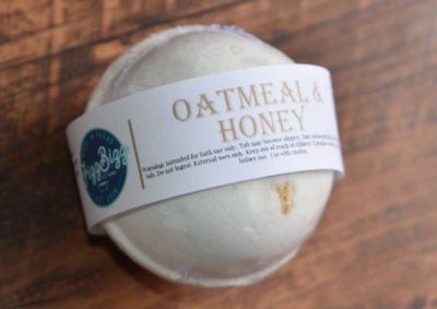Oatmeal and Honey Bath Bomb