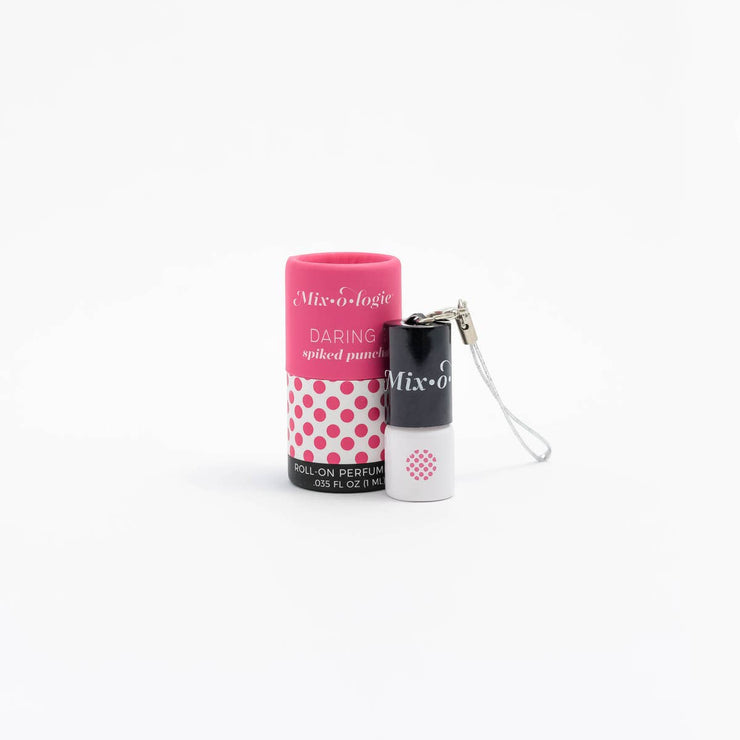 Risqué (exotic woods) Mini Roll-On Perfume Keychain (1 mL)
