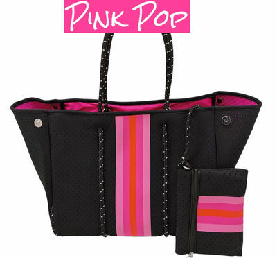 The Lyla Tote - Pink Pop