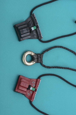 Hand Crafted Leather Tuareg Necklaces