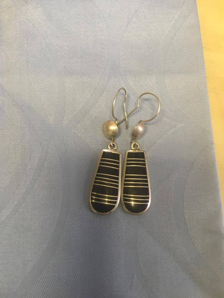 Tuareg and Silver Earrings