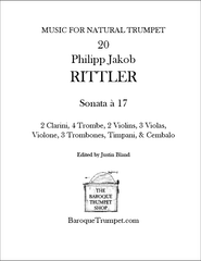 Rittler - Sonata à 17 - Digital Download