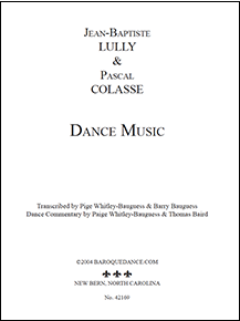 Lully & Colasse - 15 Notated Dances • Digital Download