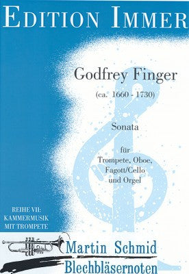 Gottfried Finger - Sonata for Trumpet, Oboe, Bassoon/Cello, & Bass Continuo