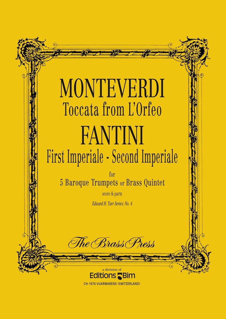 "Monteverdi ""L'Orfeo"" / Fantini ""First & Second Imperiales"""