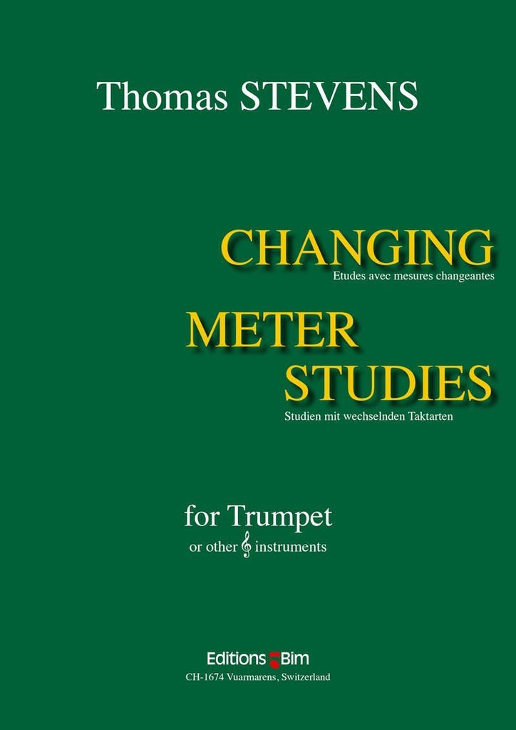 Changing Meter Studies by Thomas Stevens