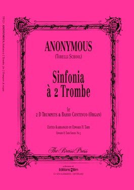 Anonymous - Sinfonia a 2 Trombe for 2 Trumpets and Organ