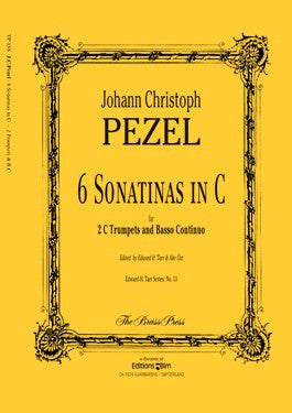 Johann Pezel - 6 Sonatinas in C for Two Trumpets and Organ