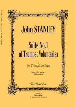 John Stanley - Suite No. 1 of Trumpet Voluntaries (in D)