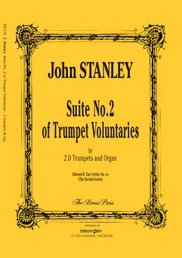 John Stanley - Suite No 2 of Trumpet Voluntaries (in D) for 1 or 2 Trumpets and Organ