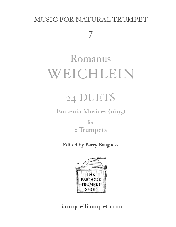 Romanus Weichlein 24 Duets - Digital Download