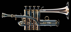 Galileo Jonas Piston Valve Bb/A Piccolo Trumpet