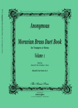Anonymous - Moravian Brass Duet Book Vol. 1