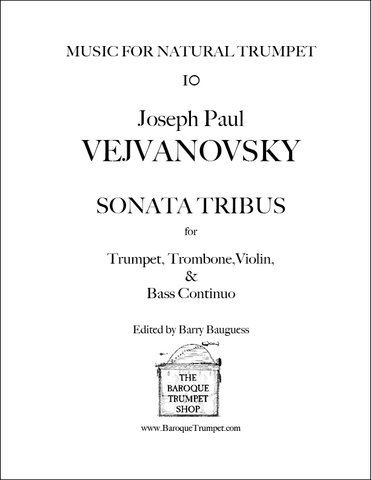 Vejvanovsky - Sonata Tribus - Digital Download
