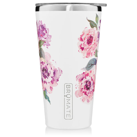 Peony Imperial Pint Insulated Tumbler