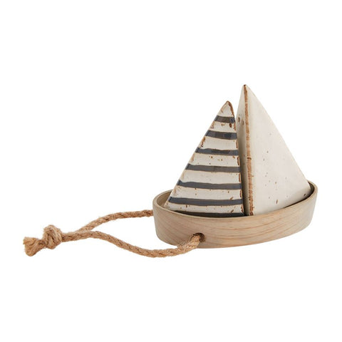 Sailboat Salt and Pepper Set