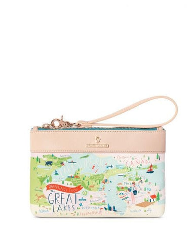 Great Lakes Wristlet