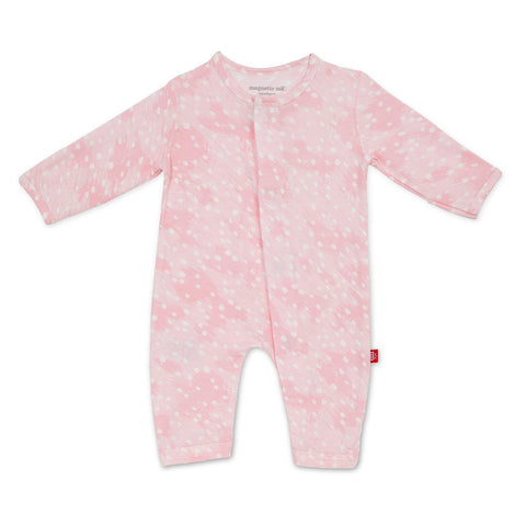 Pink Doeskin Magnetic Coverall